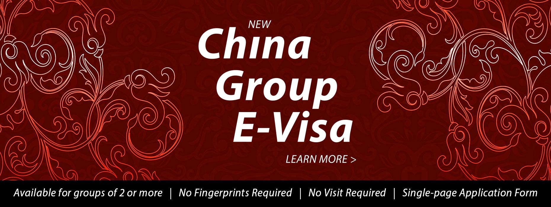 China Group E-Visa