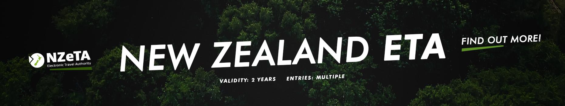 New Zealand ETA available on our website